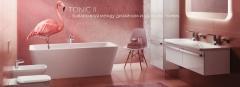 коллекция керамики для ванной TONIC 2