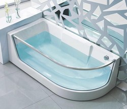 модели цельнолитых отдельностоящих ванн