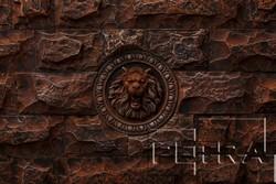 Декоративный элемент «Лев»
