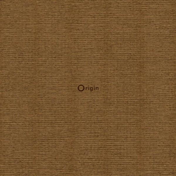 347379 surface printed eco texture non woven wallpaper linen rust brown