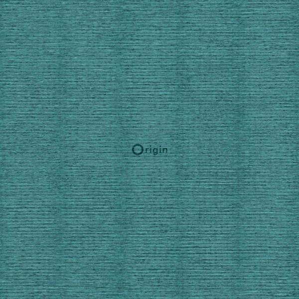 347380 surface printed eco texture non woven wallpaper linen sea green