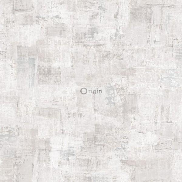 347383 silk printed non-woven wallpaper paint texture light beige