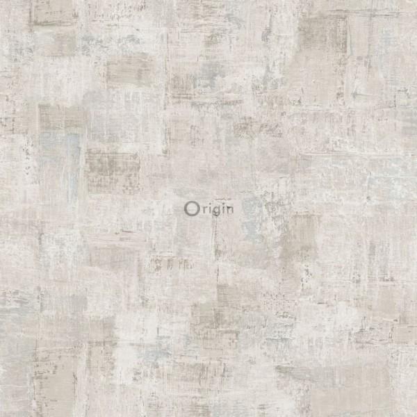 347384 silk printed non-woven wallpaper paint texture light beige
