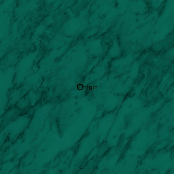 347389 silk printed non-woven wallpaper marble emerald green