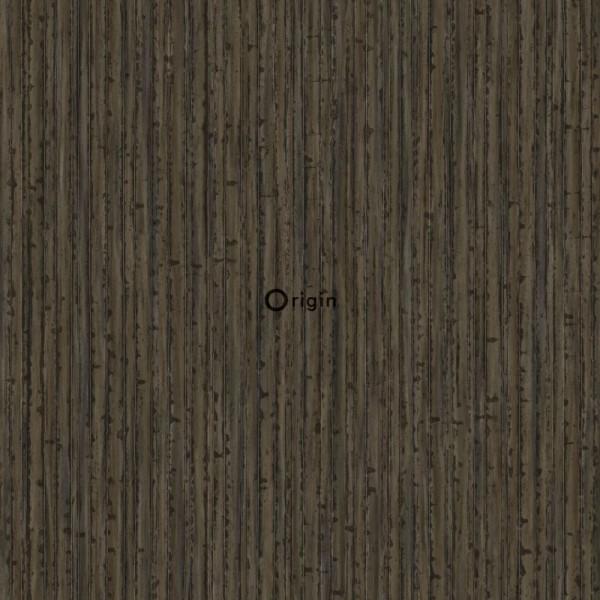 347404 silk printed eco texture non-woven wallpaper bamboo brown