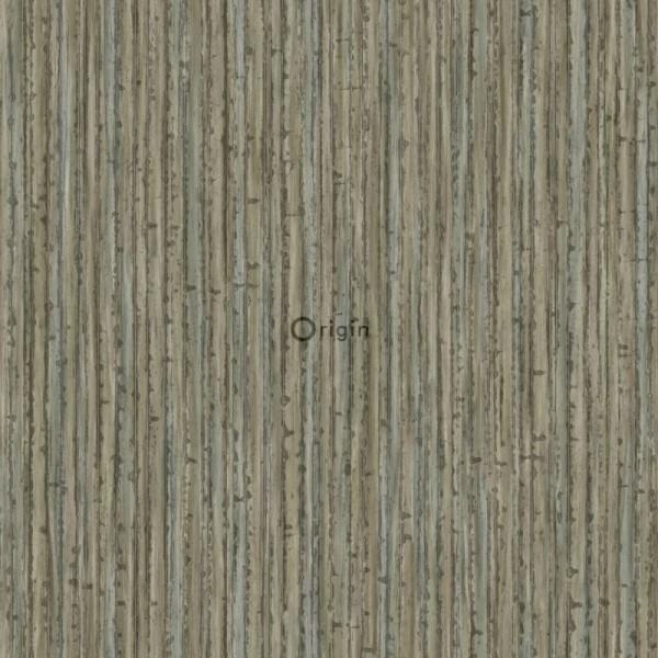 347405 silk printed eco texture non-woven wallpaper bamboo dark taupe