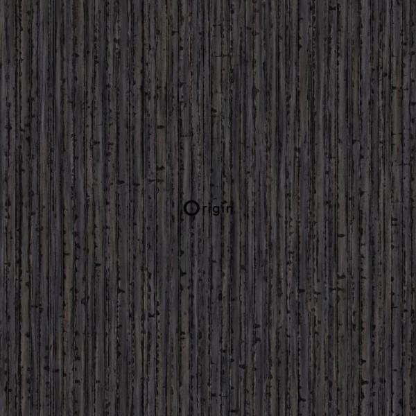 347406 silk printed eco texture non-woven wallpaper bamboo brown