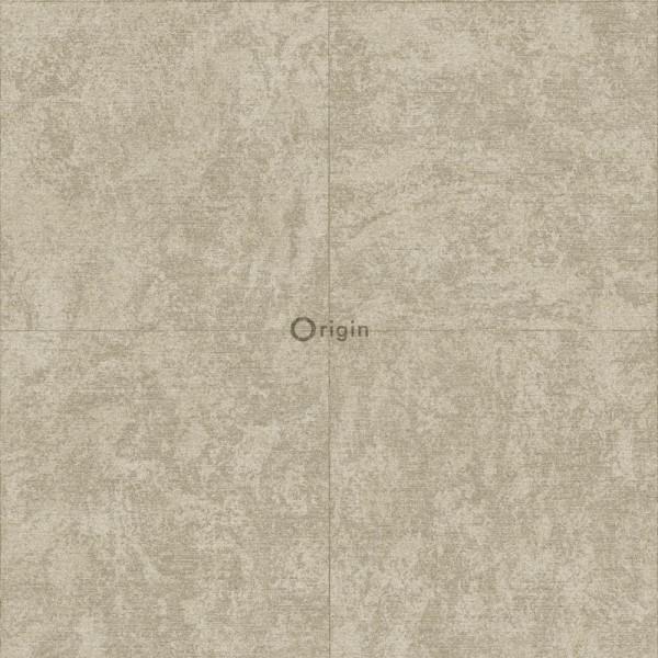347409 silk printed eco texture non-woven wallpaper stone light brown