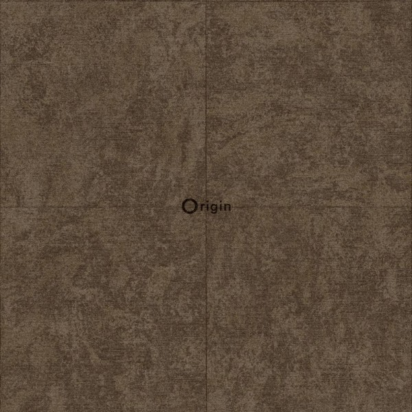 347412 silk printed eco texture non-woven wallpaper stone brown
