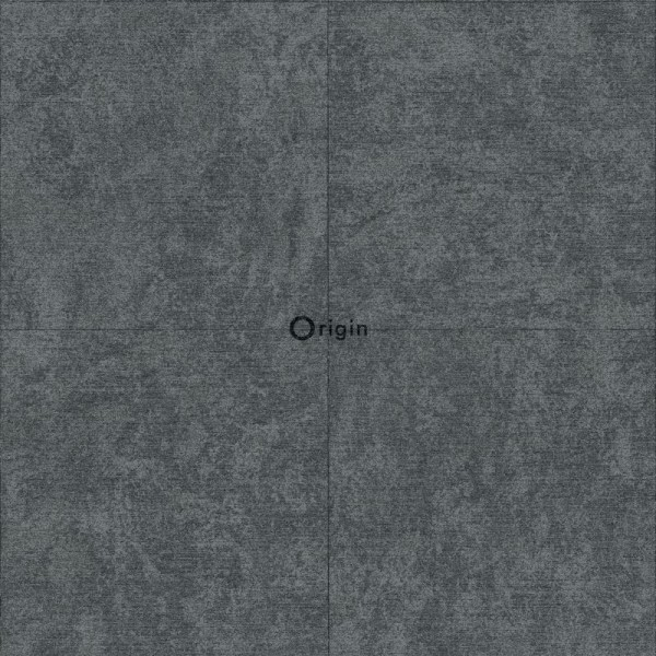 347413 silk printed eco texture non-woven wallpaper stone dark grey