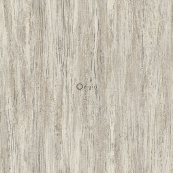 347415 silk printed eco texture non-woven wallpaper wood sand beige