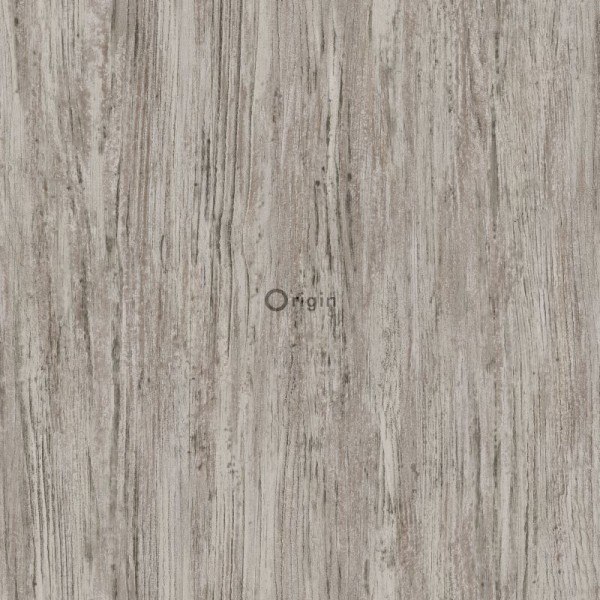 347416 silk printed eco texture non-woven wallpaper wood light brown