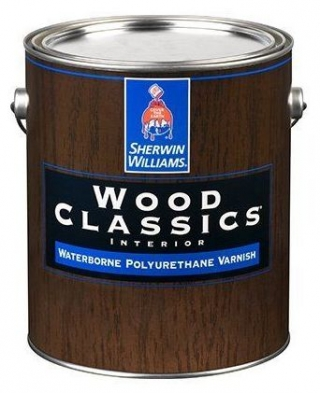 Wood Classic Waterborne Polyuretane Varnish Satin 0,95л