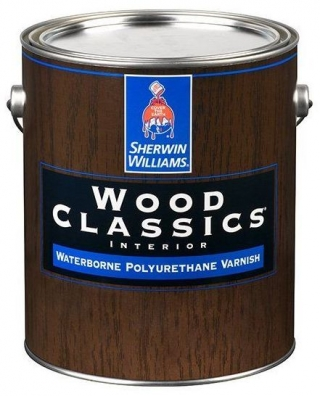 Wood Classic Waterborne Polyuretane Varnish Satin 3,8л