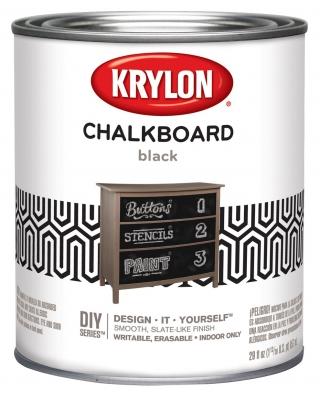 Krylon Chalkboard Paint кварта (0,95л)