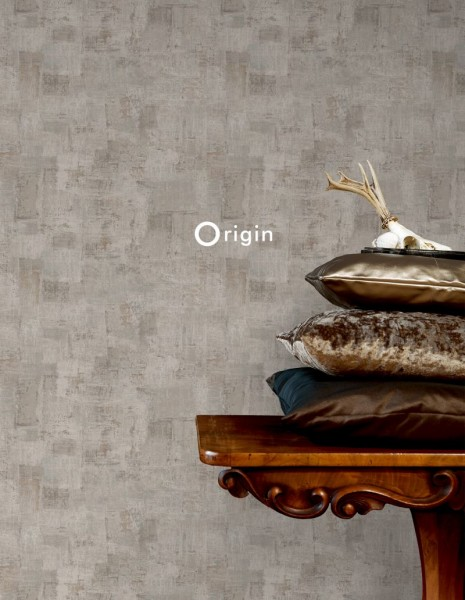 347382 silk printed non-woven wallpaper paint texture sand beige